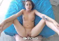 Sexo tube de uma moreninha na foda top